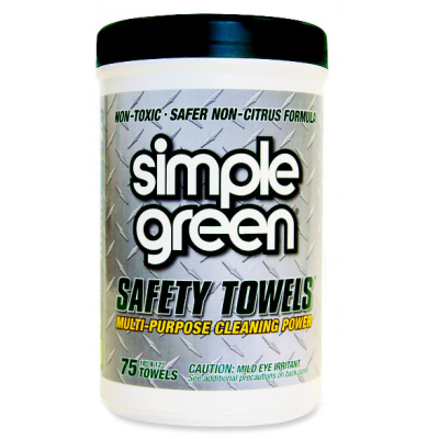 Simple Green Safety Towel 75 wipes