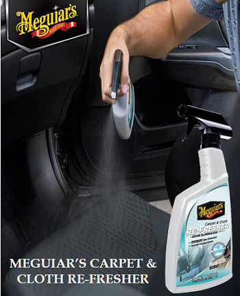 Meguiar's Carpet & Cloth Re-Fresher